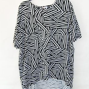 Black and White LulaRoe Irma